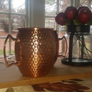 stainless steel Moscow mule set